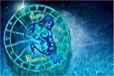 5D DIY Completo Diamante 12 constelación de acuario Punto de Cruz Bordado niños Adultos Rhinestone Cristal Pintura Regalo