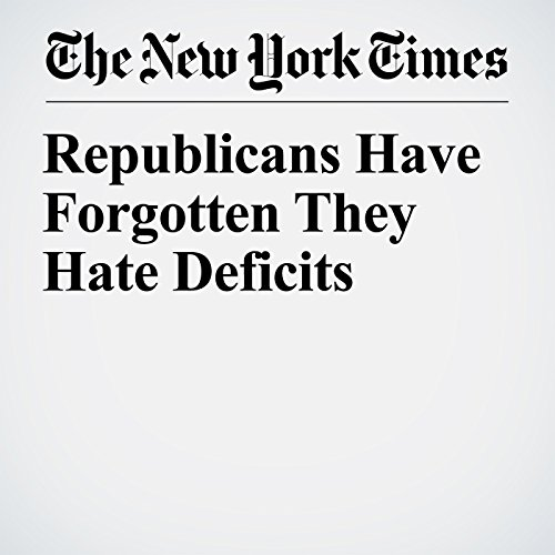 Republicans Have Forgotten They Hate Deficits copertina