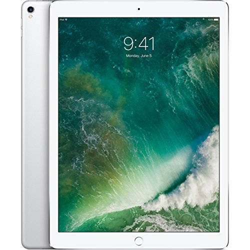 Apple iPad Pro 2nd 12.9in with (Wi-Fi + Cellular) 2017 Model, 64GB, Silver (Renewed)
