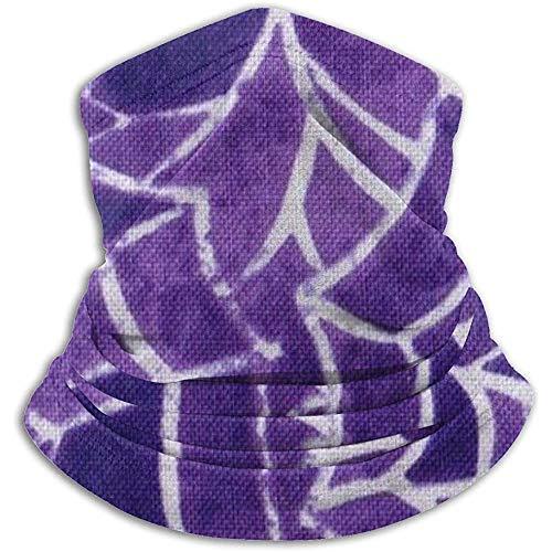 Randy-Shop Halloween-spinnen-paars net-halswarmer-sjaal-gamaschen-bandanas-koud weer-winter-buitensport