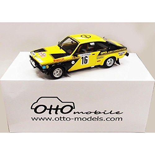 Opel Kadett GTE Group 4, gelb, No.16, Rallye Monte-Carlo, 1976, Modellauto, Fertigmodell, Ottomobile 1:18