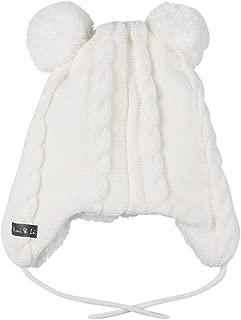 Ami&Li Infant Baby Boys Girls Kids Ultra Comfortable Knit Winter Beanie Hat with Cute Fancy Earflaps