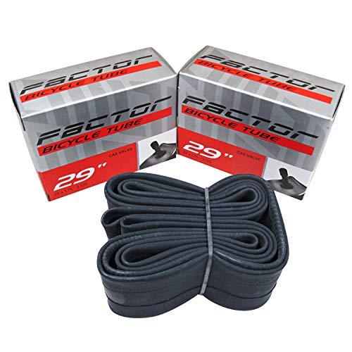 Factor 29er MTB Tubes 29 x 1.75-2.125 Schrader Car Valve (2 Pack)