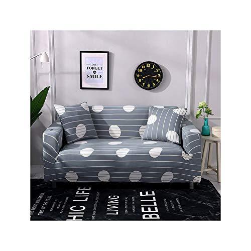 HGblossom Geometrisch Bedruckte Sofabezüge für das Wohnzimmer Sofagarnitur Spandex-Etui für das Sofa mit großer Flexibilität Farbe 20 1-Sitzer 90-140Cm