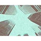 Henry Toronto City Buildings Up View Blue Sketch Großer