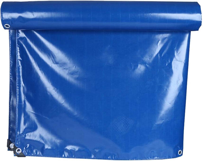 LJQ FSB ZXQZ wasserdichte Plane Plane - Blaues PVC-Messerschabetuch Wasserdichter Sonnenschutz Abriebfester, ultraleichter LKW Camping-Plane für den Auenbereich Regentuch aus Segeltuch Visier Tuch