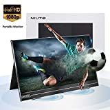 Portable Monitor Computer Gaming for Laptop Switch Xbox Travel NIUTO 17.3 Inch Full HD USB C 1920x1080 IPS Eye Care Screen PC PS4 PS5 Phone Included Smart Cover & Screen Protector Black