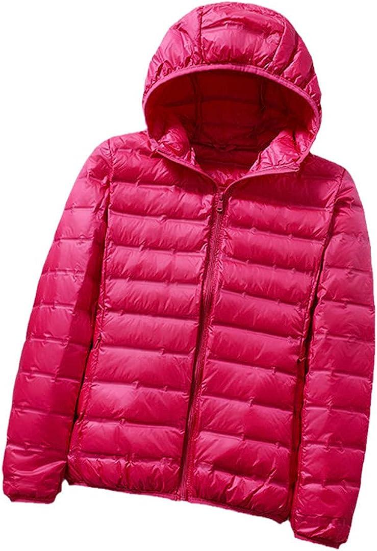 Women Thin 5 ☆ popular Down Jacket White Limited price Ultralight C Jackets Duck Warm