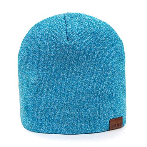 ddmlj Bonnet De Ski Bonnet De Laine Tricoté Bonnet Chaud Chapeau De Ski d'hiver en Plein Air pour Hommes Et Femmes-Kong LAN