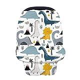 Stecto Pañuelo lactancia materna, Manta para amamantar transpirable y opaca, Cubierta lactancia, Diseño multiuso, Cubierta del Cochecito de Bebé Nursing Cover Mantas de Lactancia