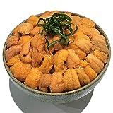 【蝦夷バフンウニ100g×2】北海道産 蝦夷バフンウニ 塩水ウニ100g×2パック 計200g 大容量 うに ウニ ばふんうに バフンウニ
