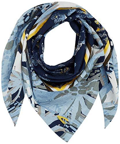 Camel Active Womenswear Damen Camel Active Mode-Schal, Blue, OS