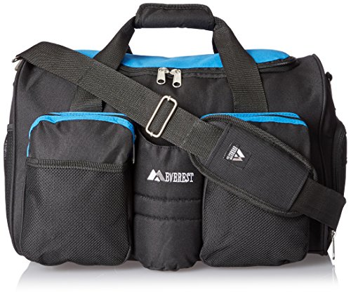 Everest Gym Bag with Wet Pocket, Royal Blue