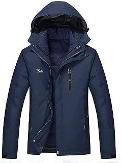 Winter Ski Jacket Waterproof Snowboard Jacket Snow Down Jacket Windproof Two-Pieces Mens Ski Jacket