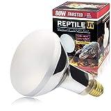 LUCKY HERP 80 Watt UVA+UVB Mercury Vapor Bulb...