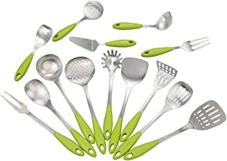 Morcte 14-Piece Kitchen Tools, Stainless Steel Cooking Utensils
