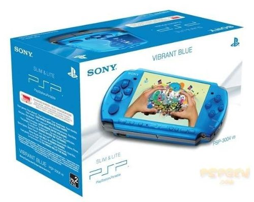 PlayStation Portable - PSP Konsole Slim & Lite 3004, blau