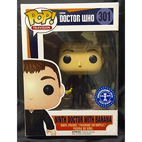Funko 301 - Pop Doctor Who 9th Doctor with Banana - Edizione Limitata