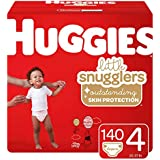 Huggies Little Snugglers Baby Diapers, Size 4...