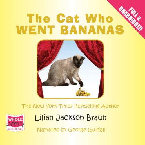 The Cat Who Went Bananas Titelbild