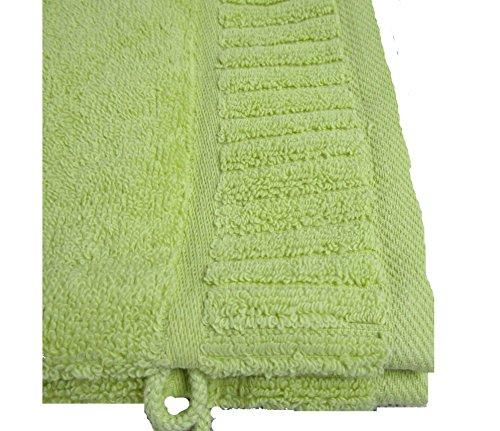 Vandenhove Linge De Maison Gants de Toilette 100% Coton Fabrication Belge Haut de Gamme Couleurs et Designs Assorties Lot mixé (Lot de 30)