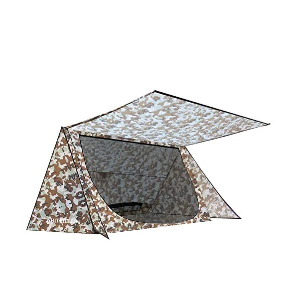 WhiteHills-1-Person-Tent-Backpacking-Ultralight-Baker-Tent-Waterproof-Backwoods-Bungalow-Camouflage-A-Frame-Tent-for-Camping-Bushcraft-Shelter-with-Inner-Mesh