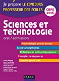 Sciences et technologie - Professeur des écoles - Oral admission - CRPE 2016: CRPE 2016