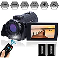 FamBrow 1080p HD Video Camera with Remote Control