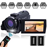 Video Camera Camcorder Full HD 1080P 30FPS 24.0 MP FamBrow...