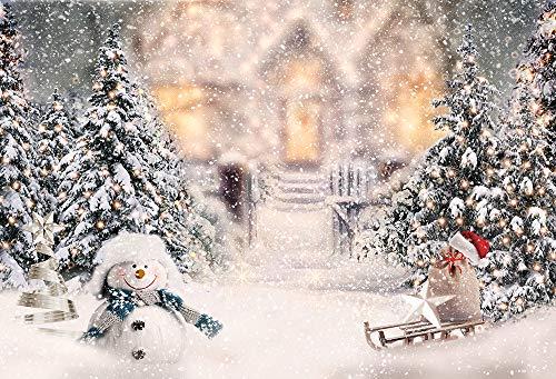 Foto de Nivius para fotografía de Navidad, telón de Fondo de Vinilo Popular de Navidad para Retratos de Estudio fotográfico o decoración del hogar 90924