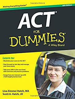 ACT For Dummies, 6E