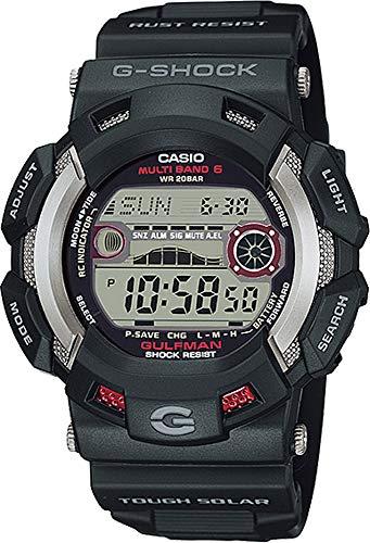 Casio GW9110-1 Master of G Gulfman - Reloj de pulsera para hombre, diseño de gigante atómico