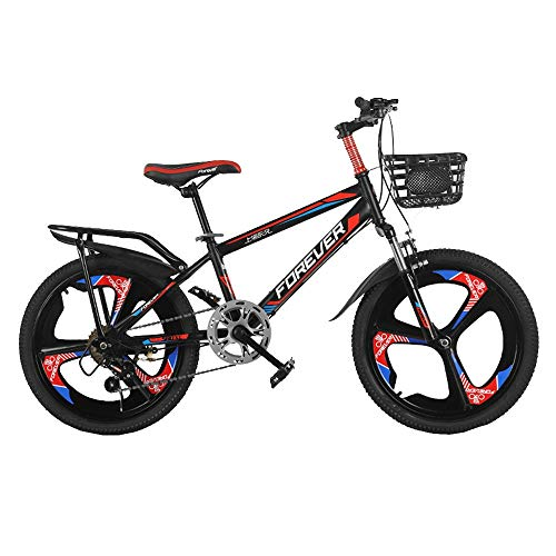BAOMEI Kids Bike Kids' Bikes 20 Inch, High Carbon Steel Children's Bicycle with Training Wheel Gift for 9-14 Years Old Boys and Girls (Color : C)