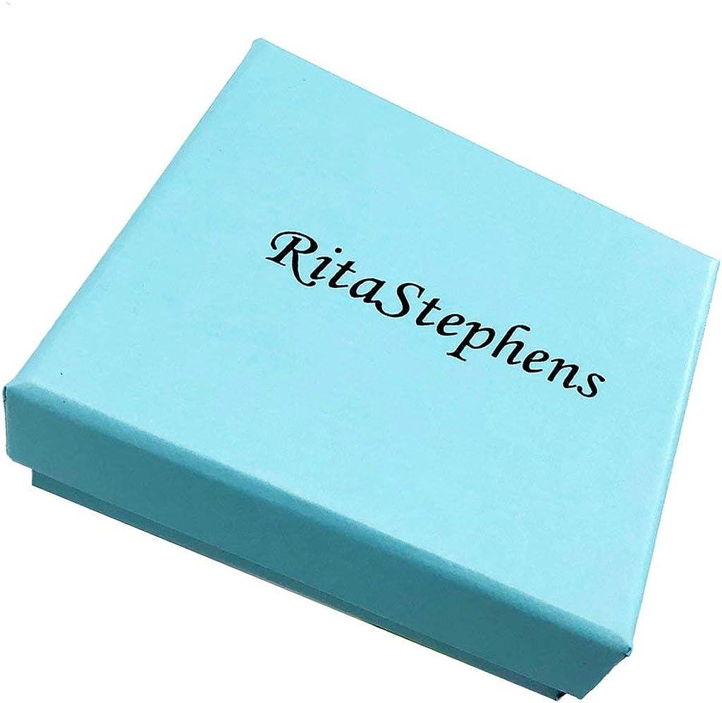 Ritastephens 14k Solid Yellow Gold Small Sideways Cross Crucifix Girls Ring Size 3
