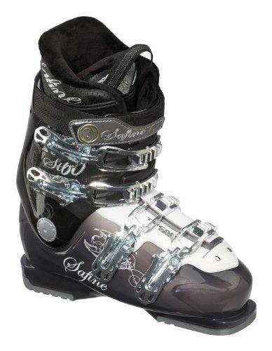 Skischoen Safine Lady ST 60 (skistlaarzen dames) (Skischoen Maat: 24-Gr.37,5-902 transp./wit)