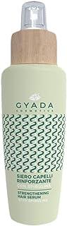 GYADA COSMETICS Siero Capelli Rinforzante Con Spirulina Certificato Bio Made In Italy, Verde, 125 Millilitro
