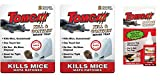 Tomcat Kill and Contain Mouse Trap, 2-Pack (set of 2 - Total 4 Traps) - With Attractant Gel