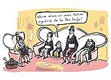 Postkarte A6 • 61005 ''Pullover von Oma'' von Inkognito • Künstler: Kittihawk • Satire •...