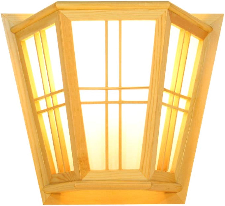 servicio honesto WLM Lámpara de Parojo Japonesa del Color del Registro, lámpara lámpara lámpara de Parojo del Tatami del Pino del escorpión, lámpara de Parojo Creativa Moderna Minimalista - luz Caliente,luz Calida,Un tamaño  ventas en linea