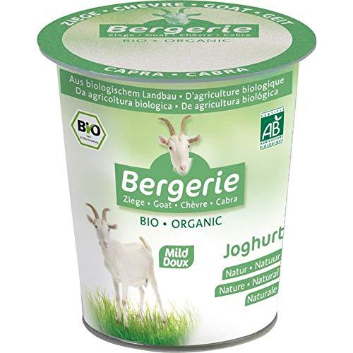 Bergerie Bio Bio Ziegenmilch-Joghurt Natur (6 x 125 gr)