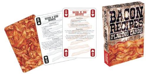 Aquarius Bacon Recipes Playing Cards