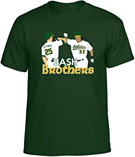Green Oakland McGwire Canseco Bash Brothers T-Shirt