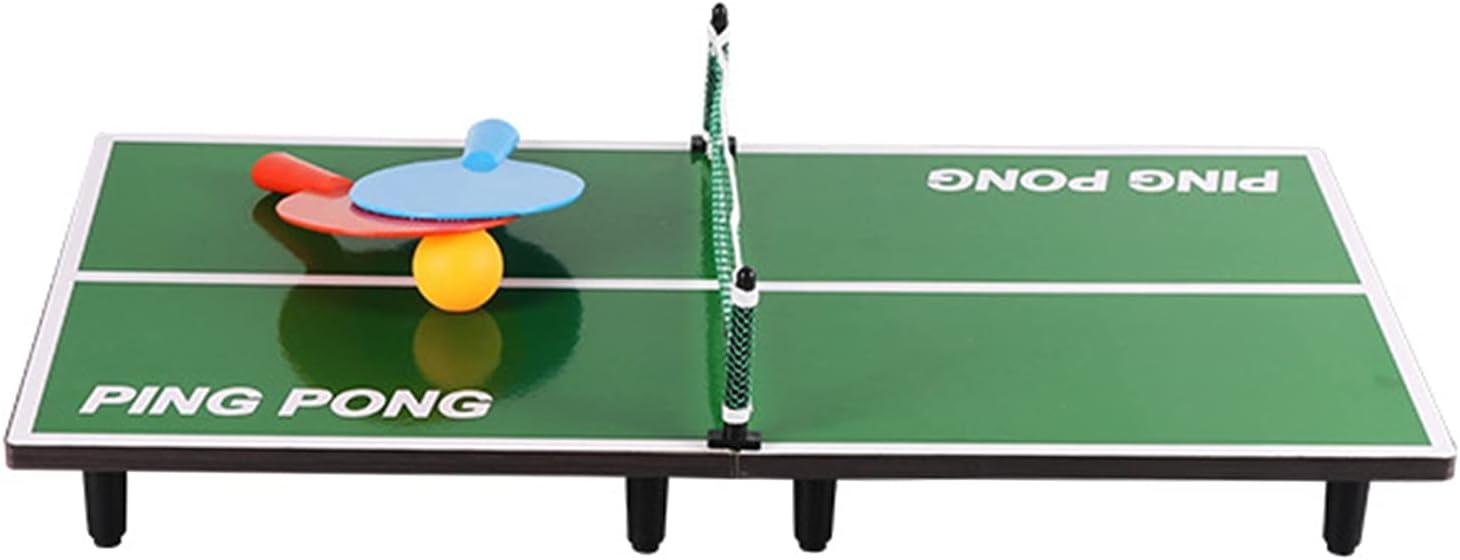 Mesa De Ping-Pong Pequeña, Juegos De Tenis De Mesa De Fiesta De Cumpleaños para Niños En Interiores, Juegos De Ocio Familiar, 90x40x6.5cm