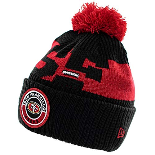 New Era San Francisco 49ers Beanie NFL 2020 On Field Sport Knit...