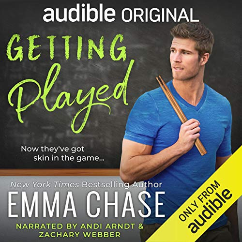 Getting Played                   Auteur(s):                                                                                                                                 Emma Chase                               Narrateur(s):                                                                                                                                 Andi Arndt,                                                                                        Zachary Webber                      Durée: 6 h et 57 min     7 évaluations     Au global 4,7