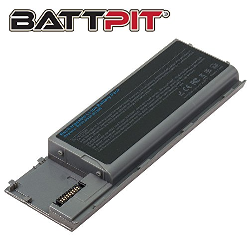Battpit Laptop Battery for Dell Latitude D620 D630 D630c D630N D631 D631N D640 D830N Advanced Essential PC764 TD175 HX345 JD634 PP18L - High Performance [6-Cell/4400mAh/49Wh]