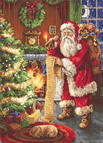 Kit de point de croix Père Noël B578