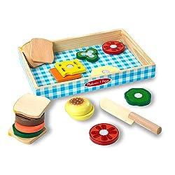 Wooden Toy Sandwich Making Set