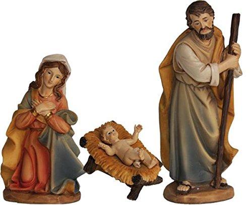 Heilige Familie 3tlg. Höhe 7cm, handbemalen