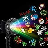 Jingle Jollys Christmas Laser Lights Projector Pattern LED Laser Landscape Projector Light Lamp